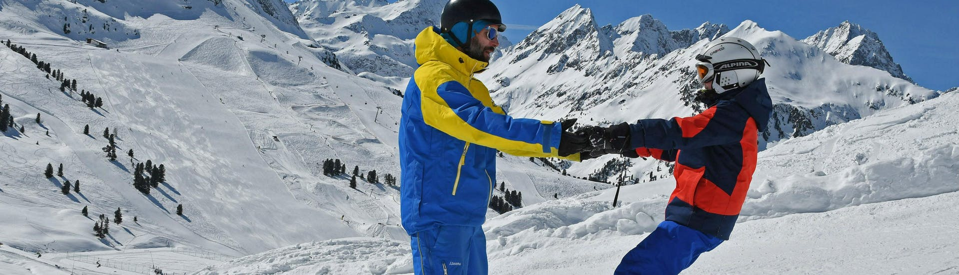 Cours particulier de snowboard pour Tous niveaux avec 1. Schi- und Snowboardschule Kühtai - Hero image