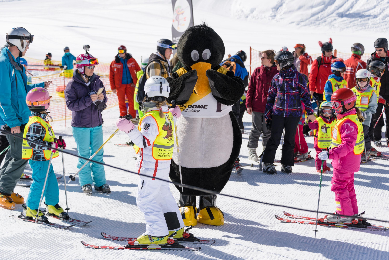 """Cours de Ski """"BOBOs Kidsclub"""" (4-15 ans) - Expérimenté"""