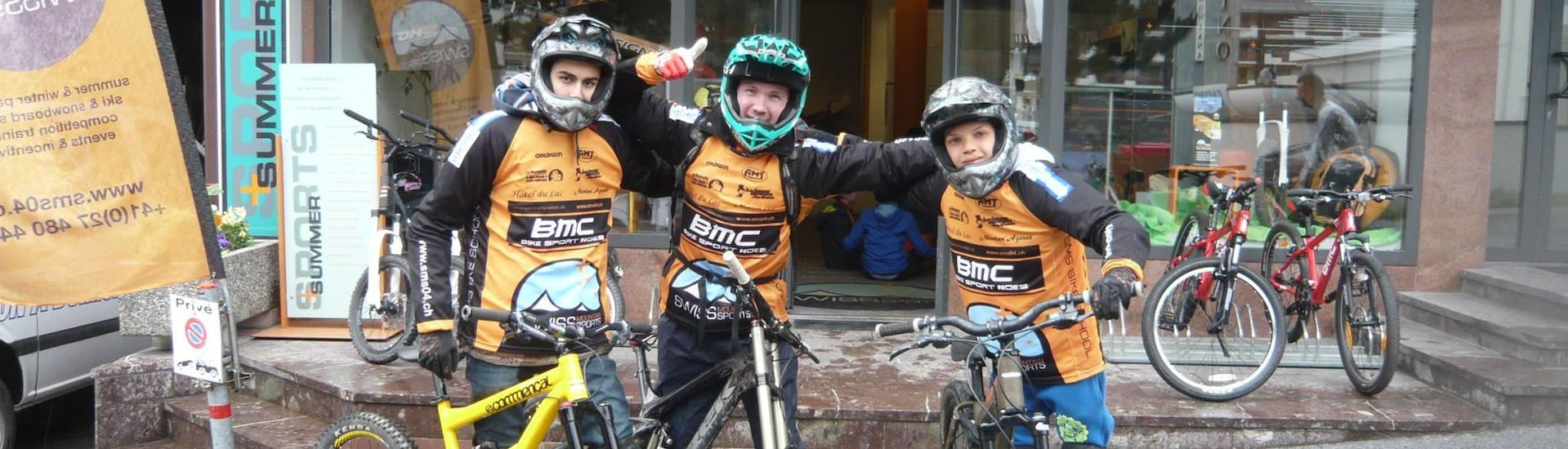 Downhill Biking Training for Kids & Adults - All Levels