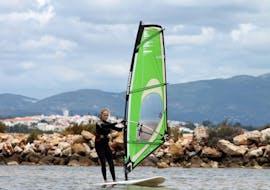 Windsurflessen in Lagos vanaf 7 jaar voor gevorderde surfers