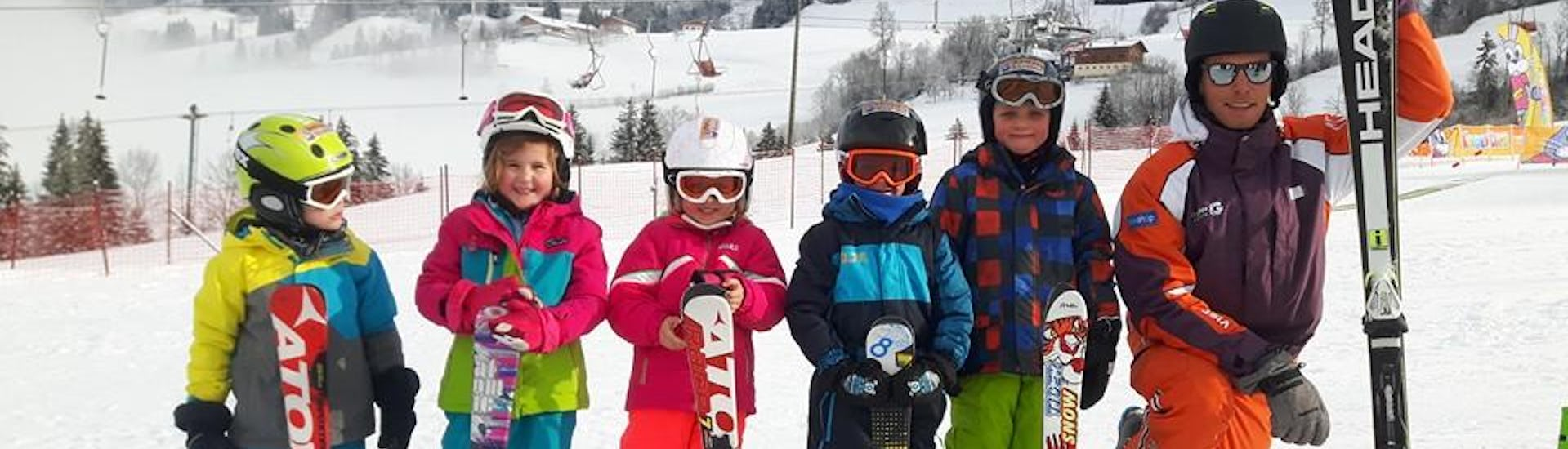 """Ski Lessons """"All-in-One"""" for Kids (4-6 years) - All Levels"""