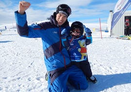 Ski Lessons for Kids (3-14 years) - Full Day - All Levels