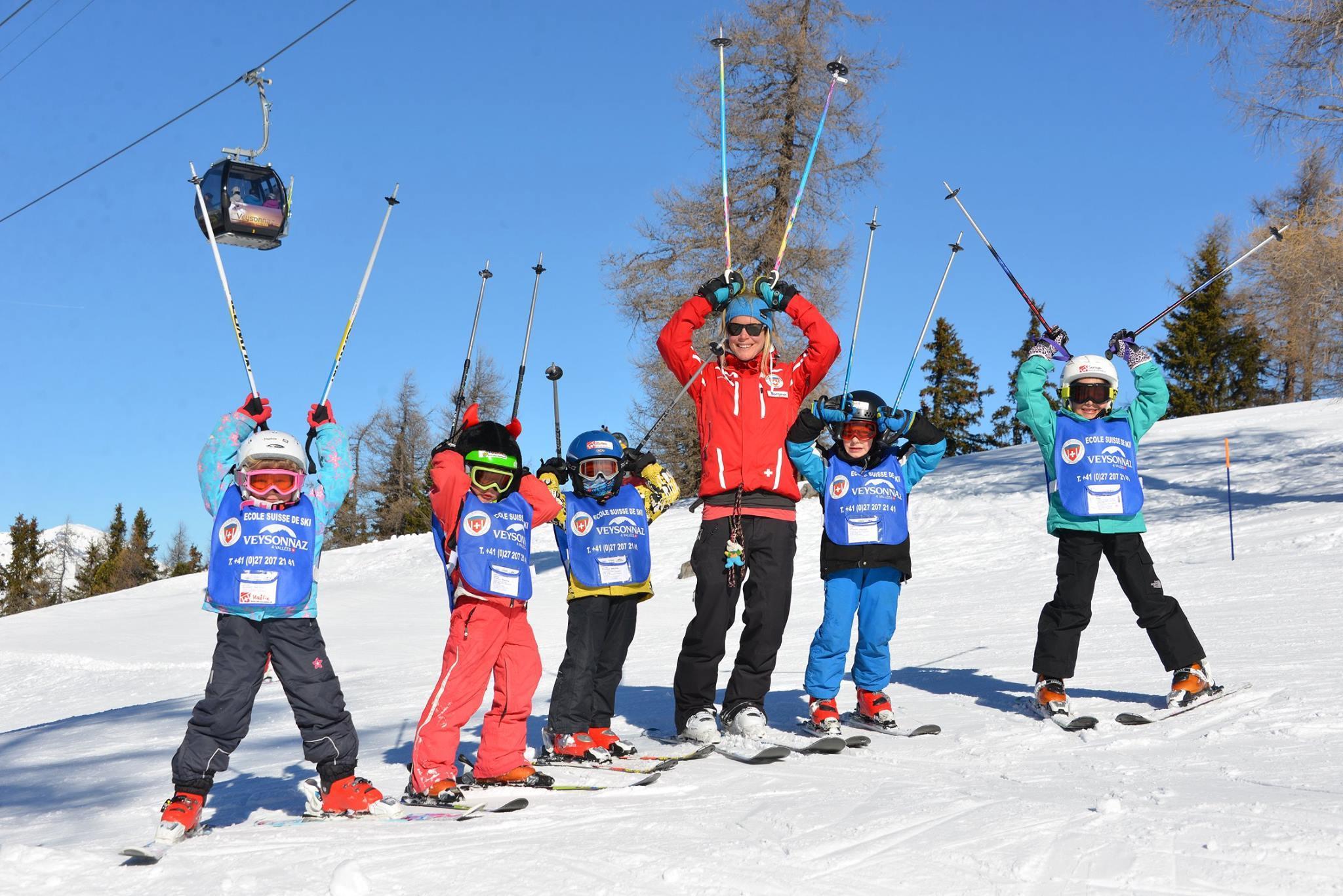 Cours de ski Enfants (6-12 ans) - Expérimentés - Matin