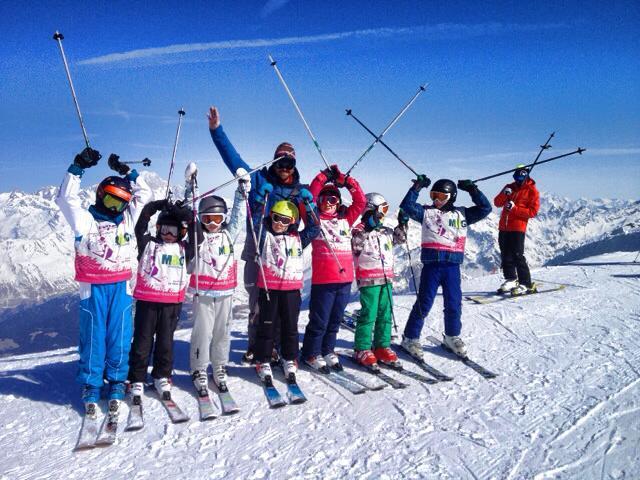 Cours de ski Ados (13-17 ans) - Haute saison - Arc 1950