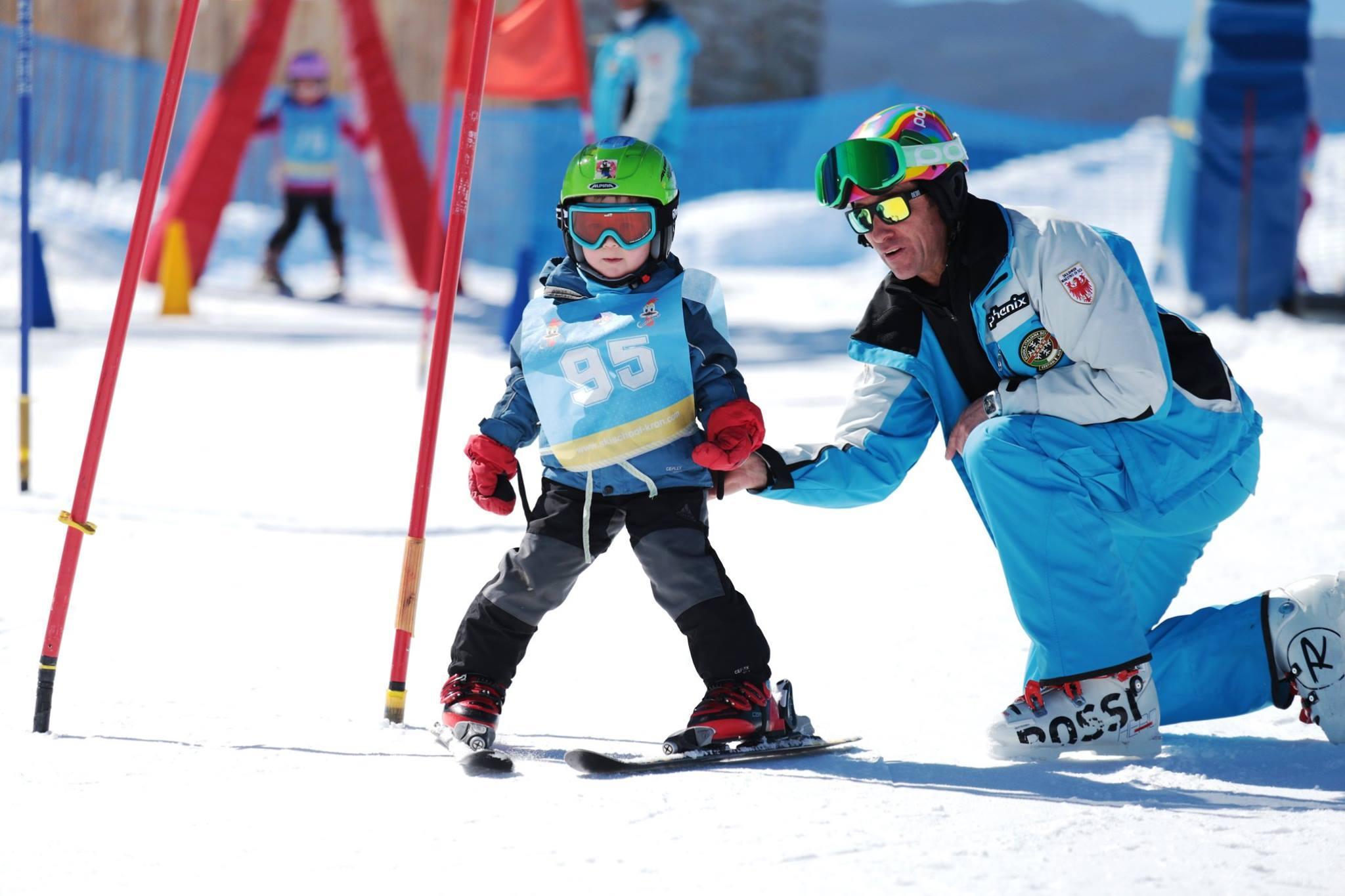 Skilessen voor kinderen vanaf 2 jaar - licht gevorderd