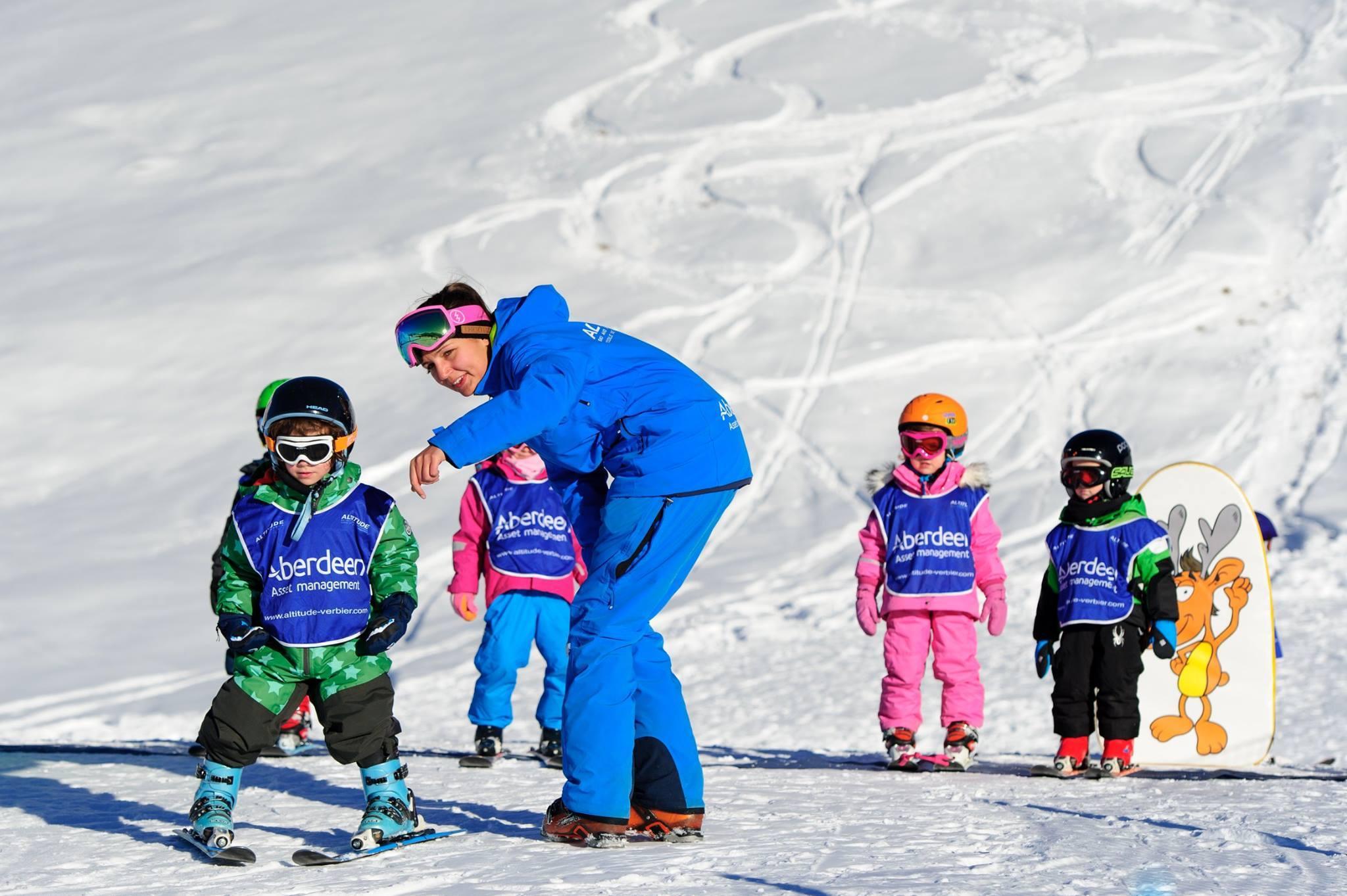 """Cours de Ski Enfants """"Ours Polaires"""" (3-5 ans)"""