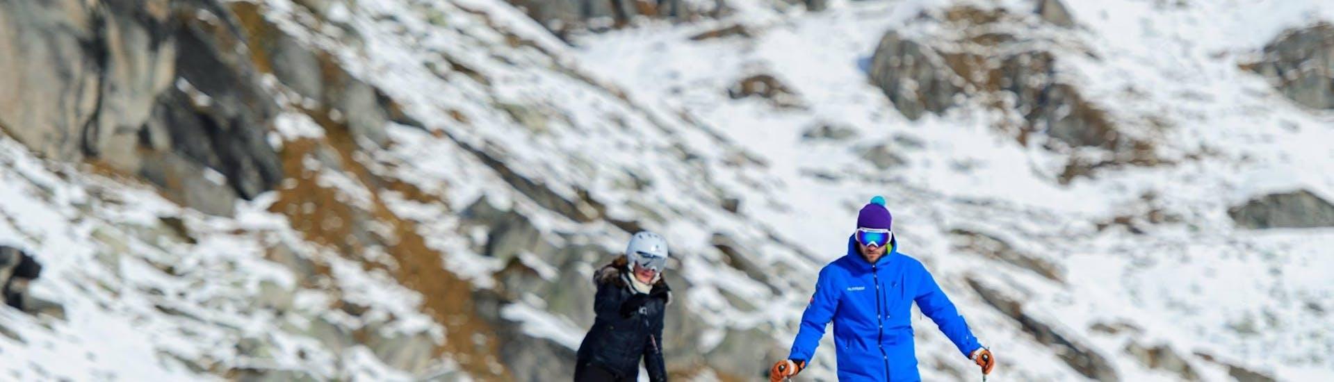 Cours particulier de ski Adultes pour Tous niveaux à Gstaad