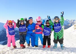 """Kids Ski Lessons """"Polar Bears"""" (3-5 y.) for All Levels"""