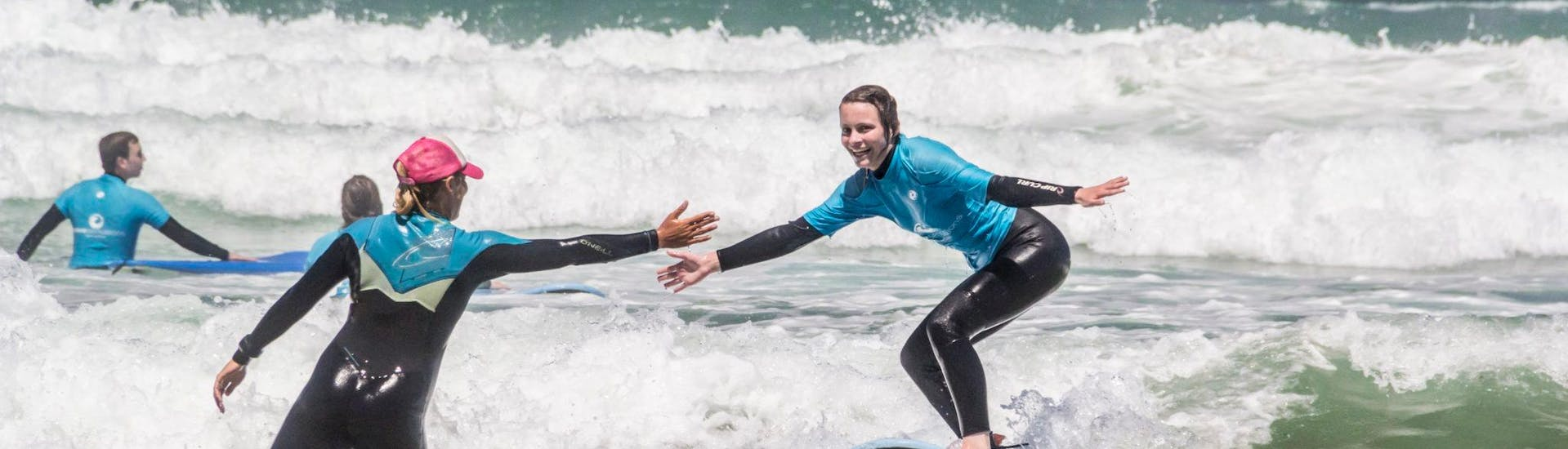 """Private Surfing Lesson """"Full Day"""" for Adults"""