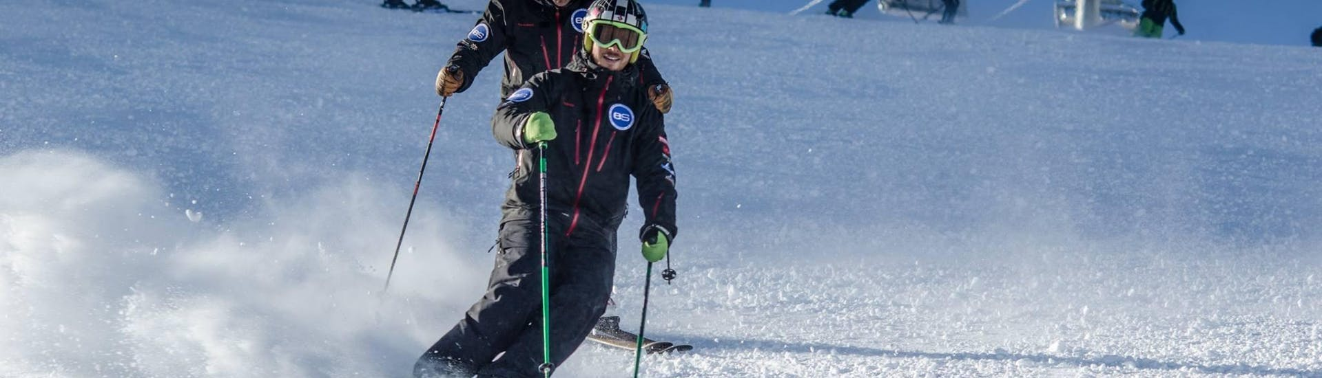 "Ski Lessons ""Freeski"" Half Day (11-17 years) - Advanced with European Snowsport Zermatt - Hero image"