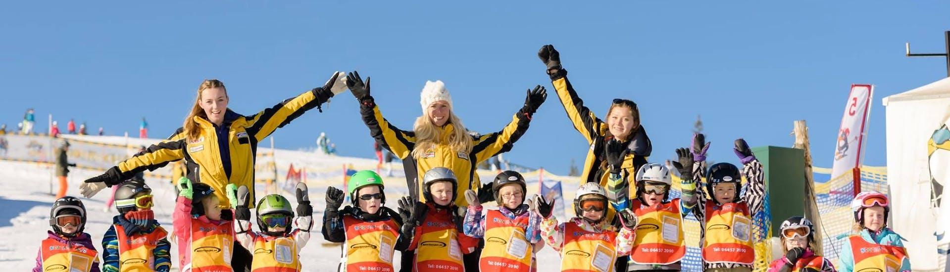 Curso de esquí para niños a partir de 6 años para debutantes