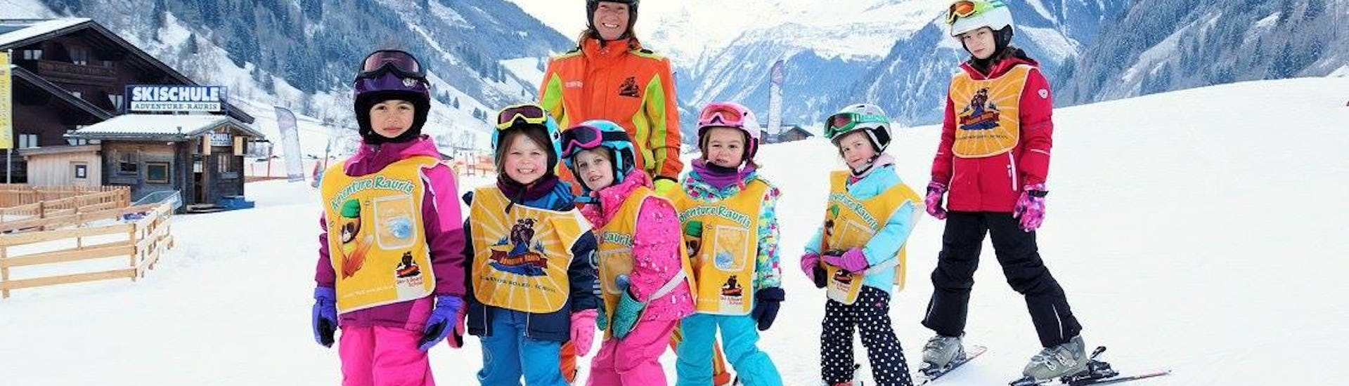 "Ski Lessons ""All-in-One"" for Kids (4-6 years) - All Levels"