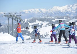 Kids Ski Lessons (4-12 y.) for Beginners with skiCHECK Alpbach