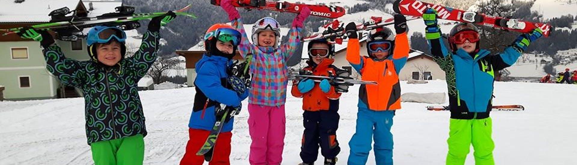 """""""Skiën en spelen"""" voor kinderen (3-4 jaar) - Beginners"""