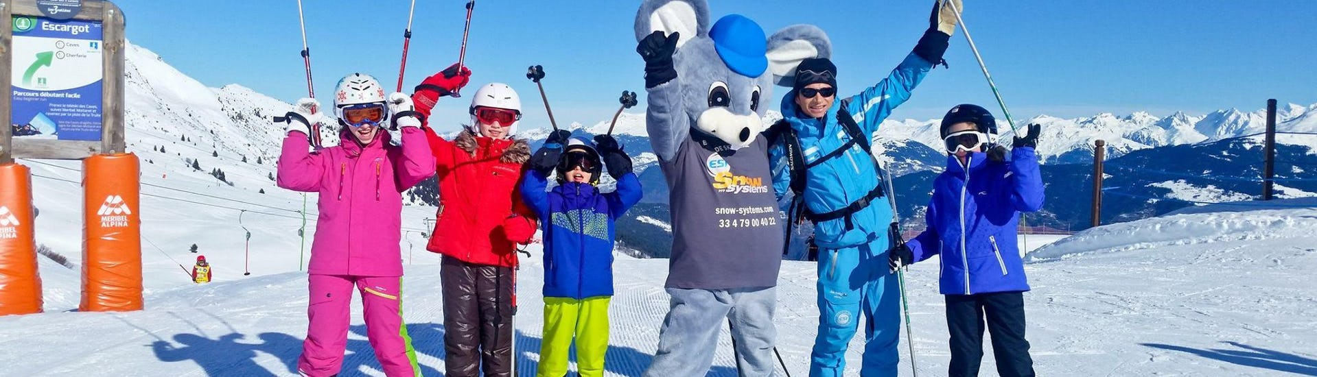 Ski Lessons for Kids (4-13 years) - Low Season - All Levels
