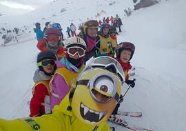 Kids Ski Lessons (4-12 y.) for All Levels - Half Day with Scuola Sci 2000 Selva