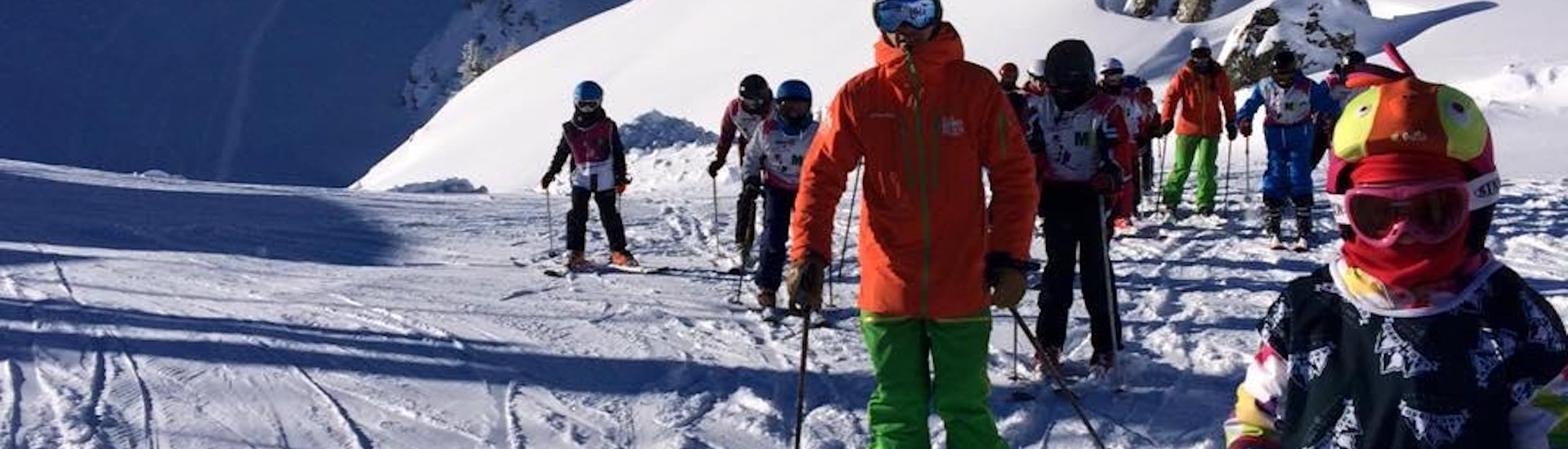 Kids Ski Lessons (5-12 years) - Arc 1950