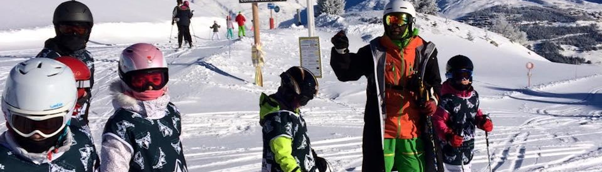 Kids Ski Lessons (7-14 years) - Afternoon - Arc 1800
