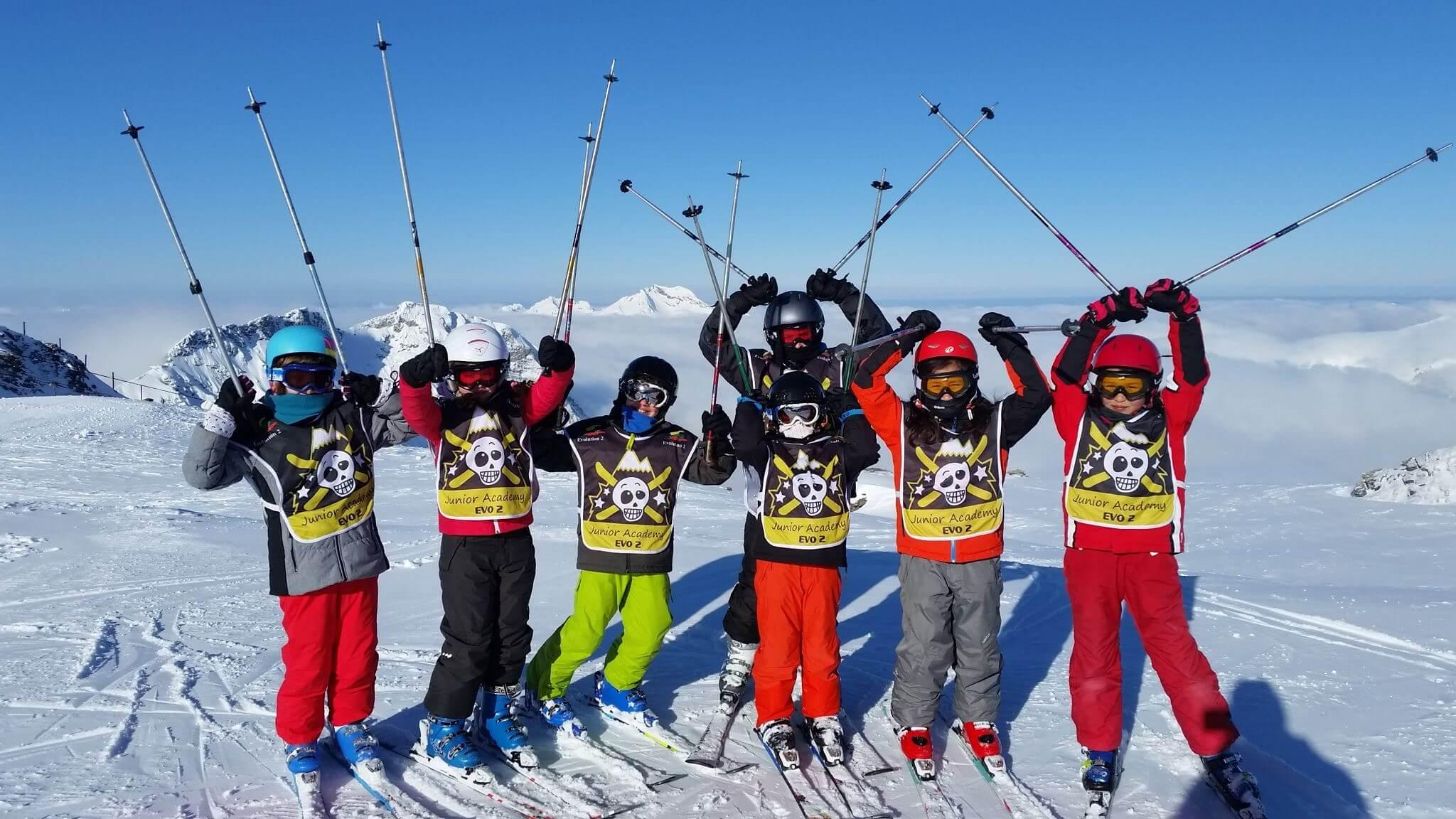 Cours de ski Enfants (4-14 ans) pour Tous niveaux
