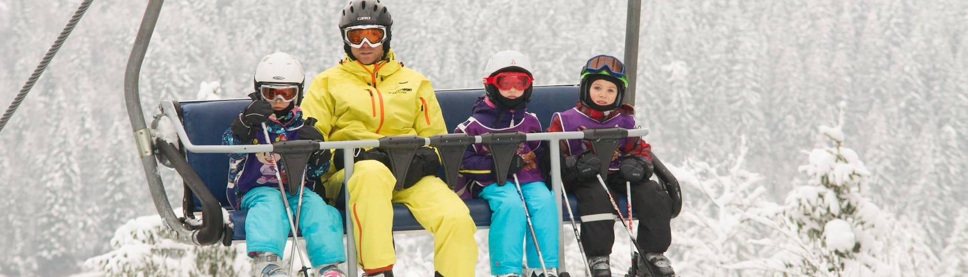 Ski Lessons for Kids (3-16 years) - 01.02-06.02