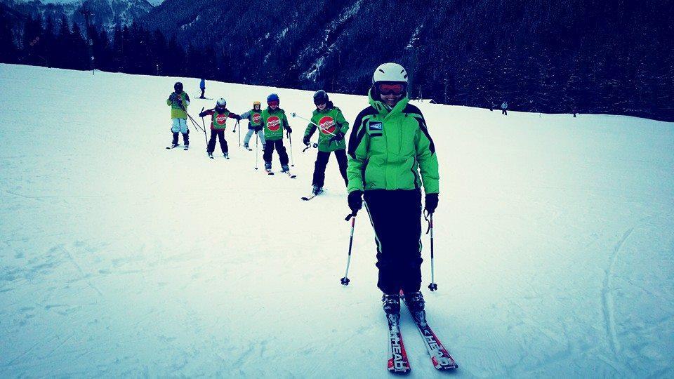 Cours de ski pour Enfants - Avancé