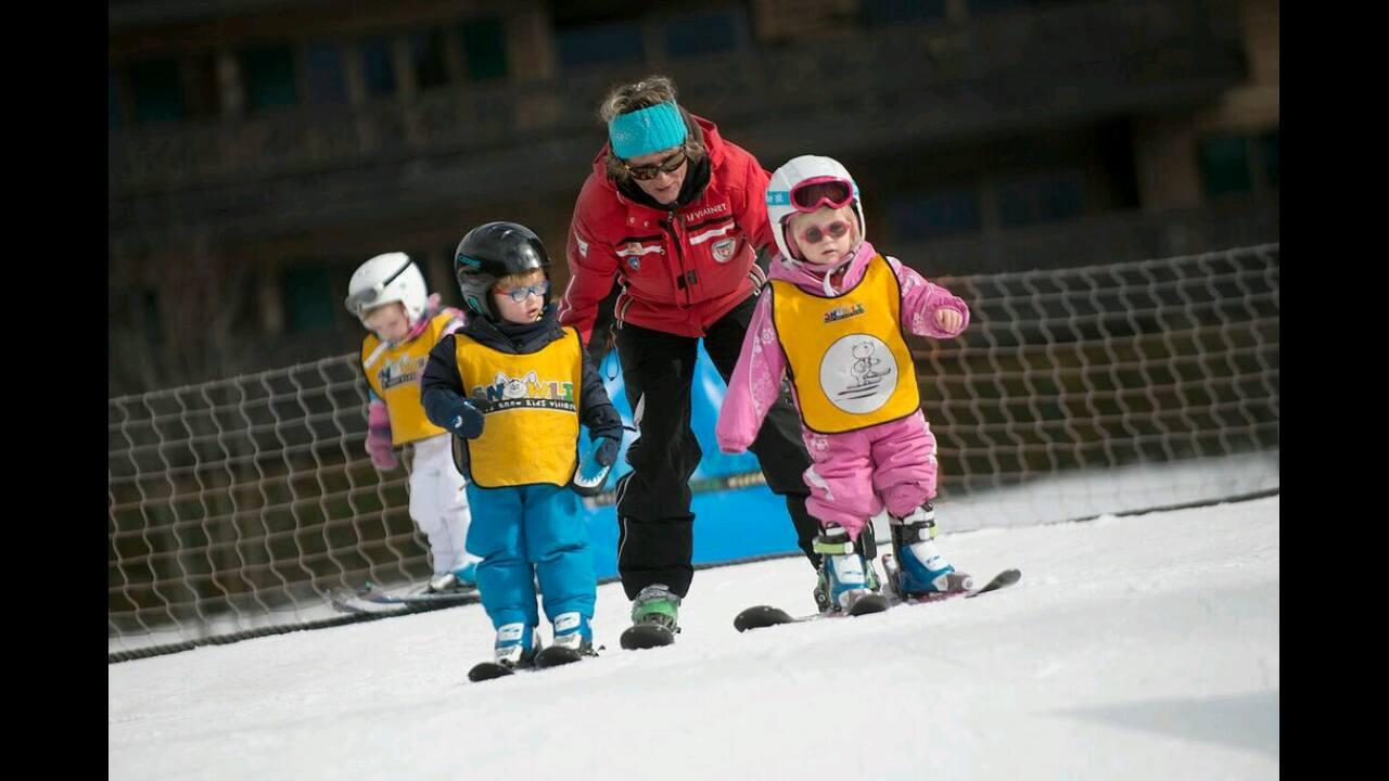 Cours particulier de ski Enfants (5-17 ans)