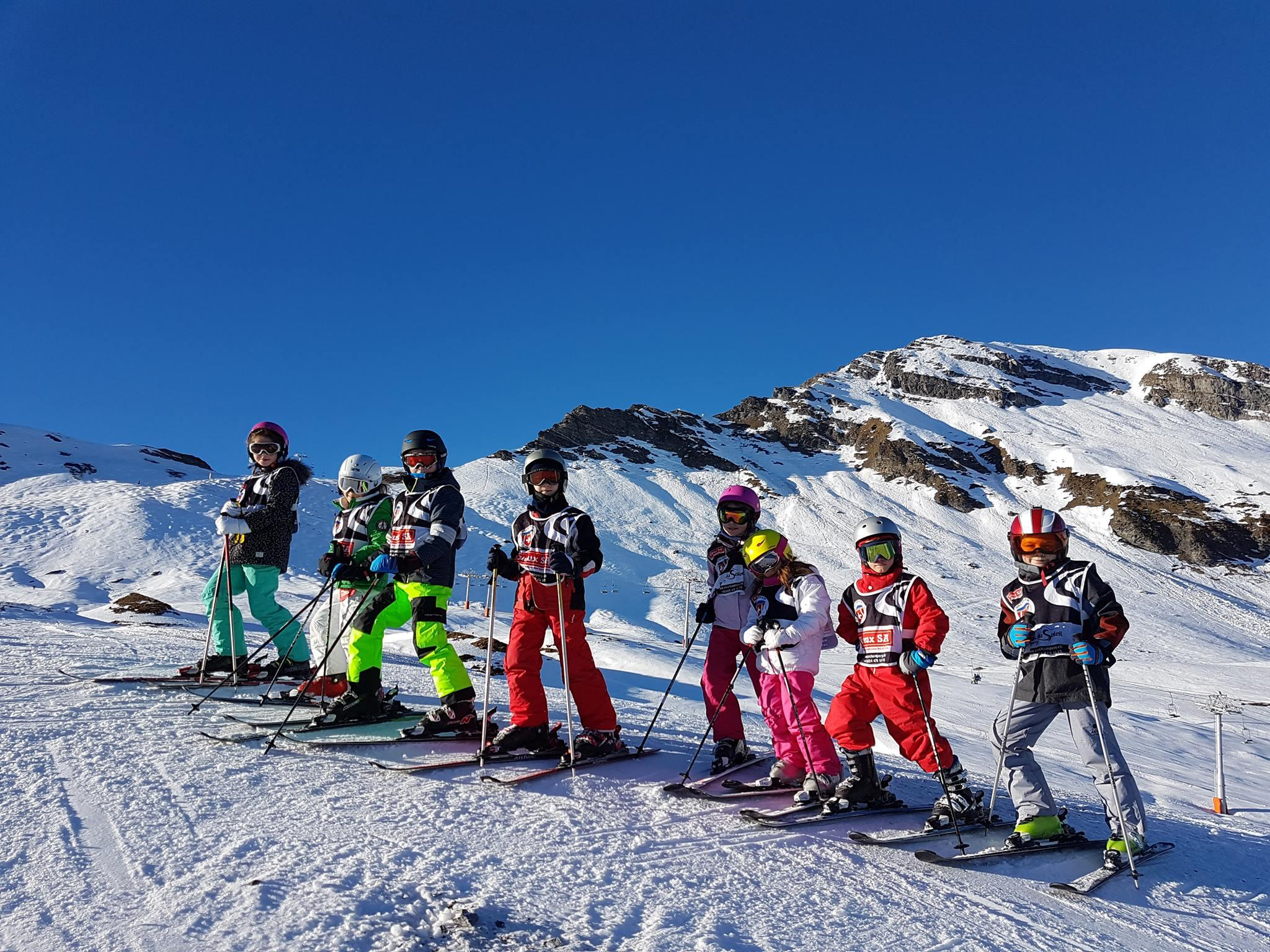 Cours de ski Enfants (7-17 ans) pour Tous niveaux