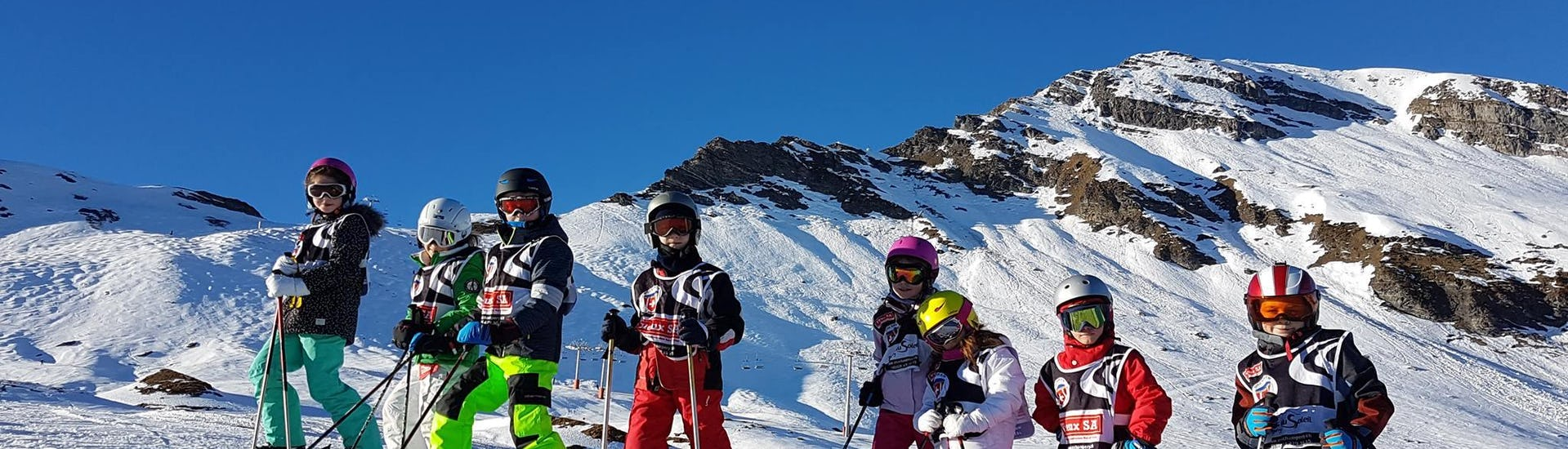 Ski Lessons for Kids (7-17 years) - All Levels