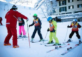 Kids Ski Lessons (5-12 y.) for Beginners