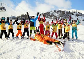 "Ski Lessons for Kids ""Half Day"" (4-16 years) - Advanced"