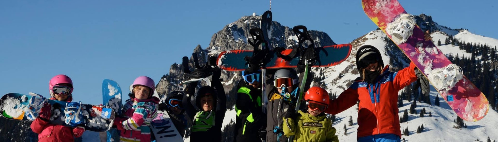 """Snowboard Lessons """"Weekend"""" for all Ages - All Levels"""