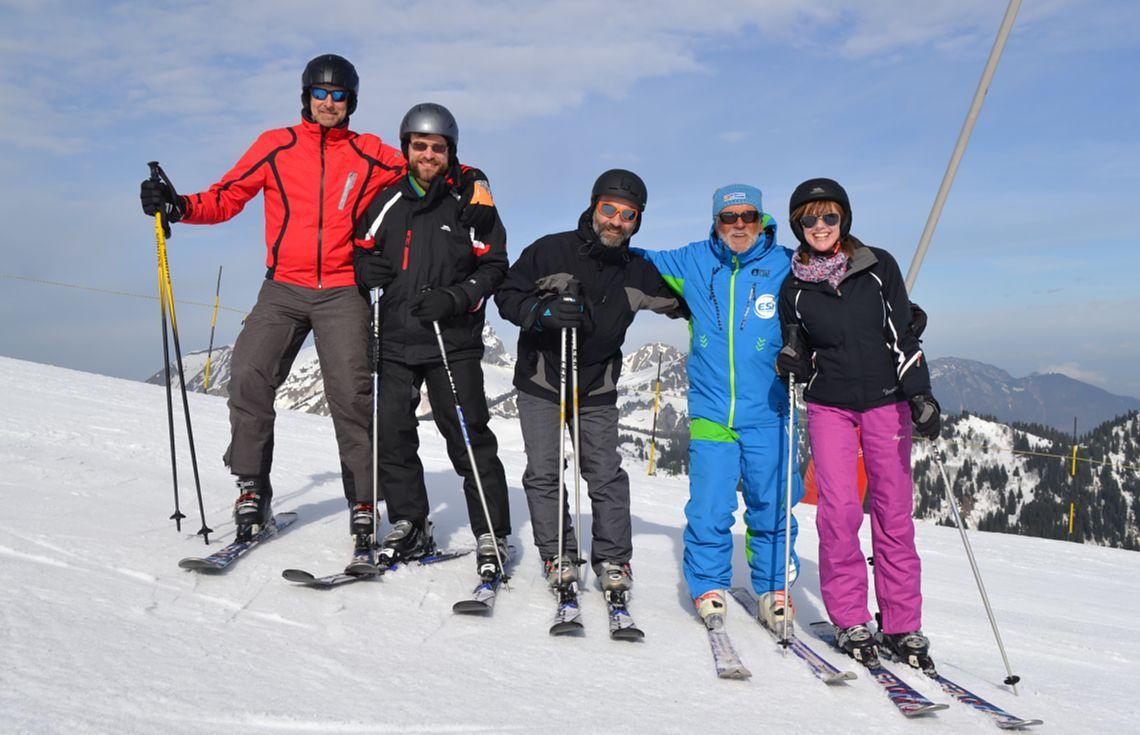 Cours de ski Ados & Adultes pour Tous niveaux - Basse saison