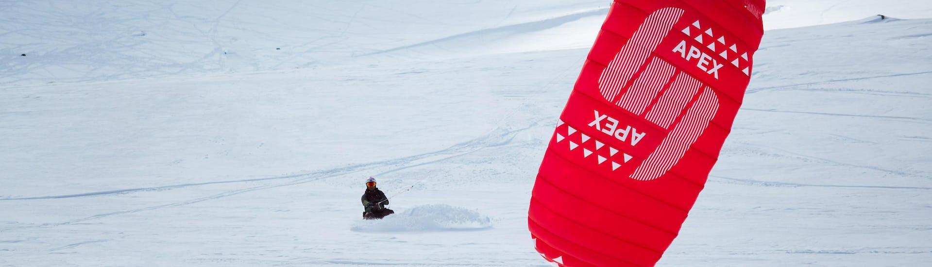 Snowkite Kurs für Anfänger