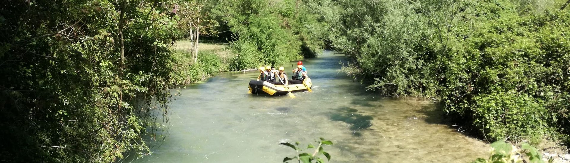 "Rafting ""Soft"" - River Nera"