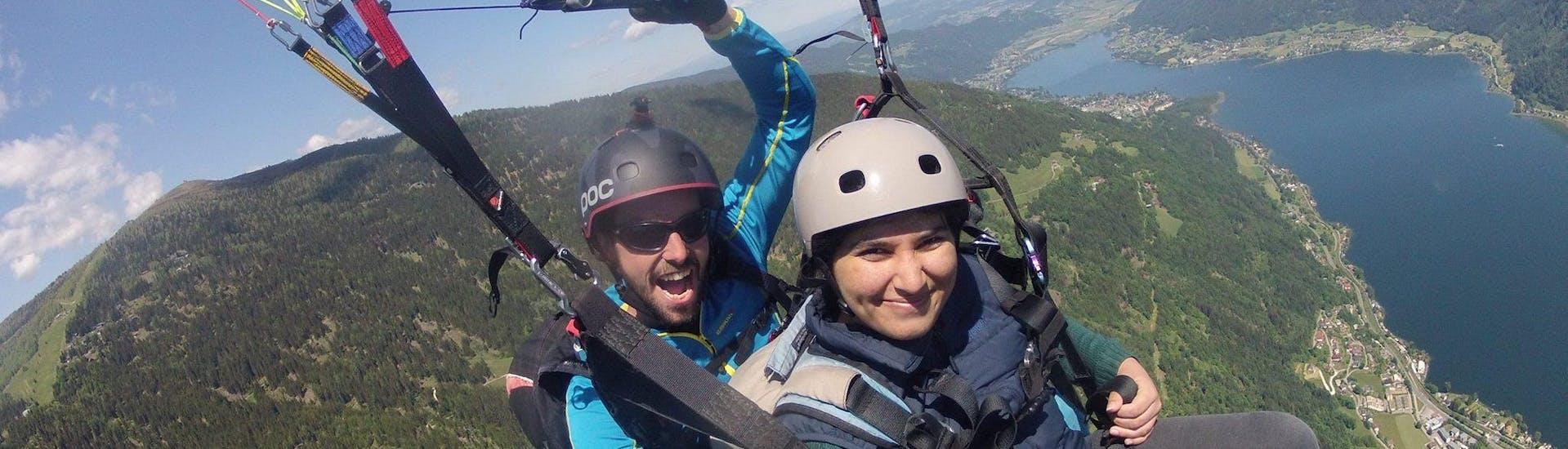 Thermal Tandem Paragliding from Gerlitzen