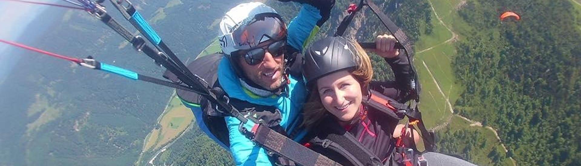 Tandem Paragliding in Kössen - Streckenflug