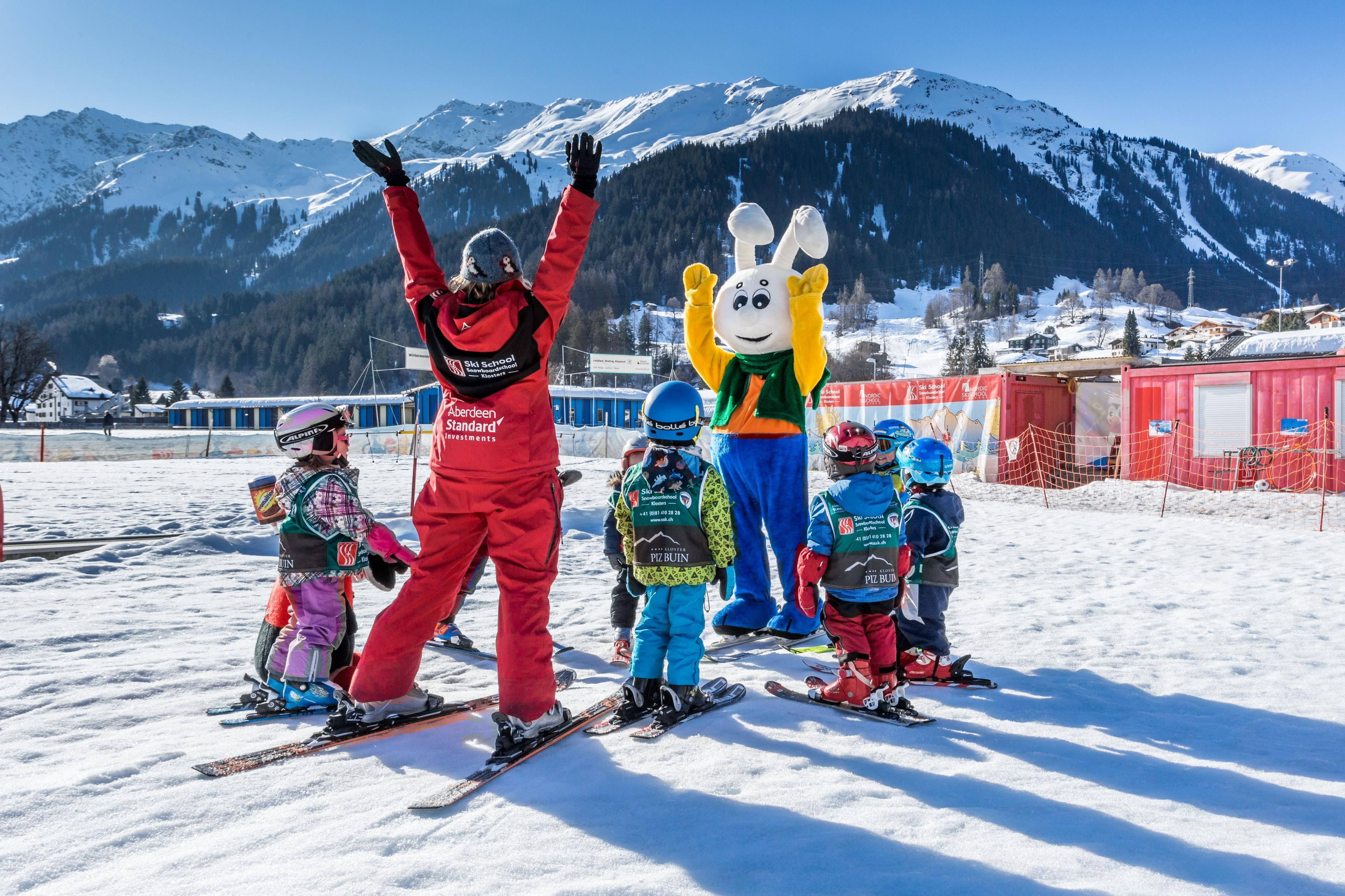 Premier Cours de ski Enfants (jusqu'à 6 ans)