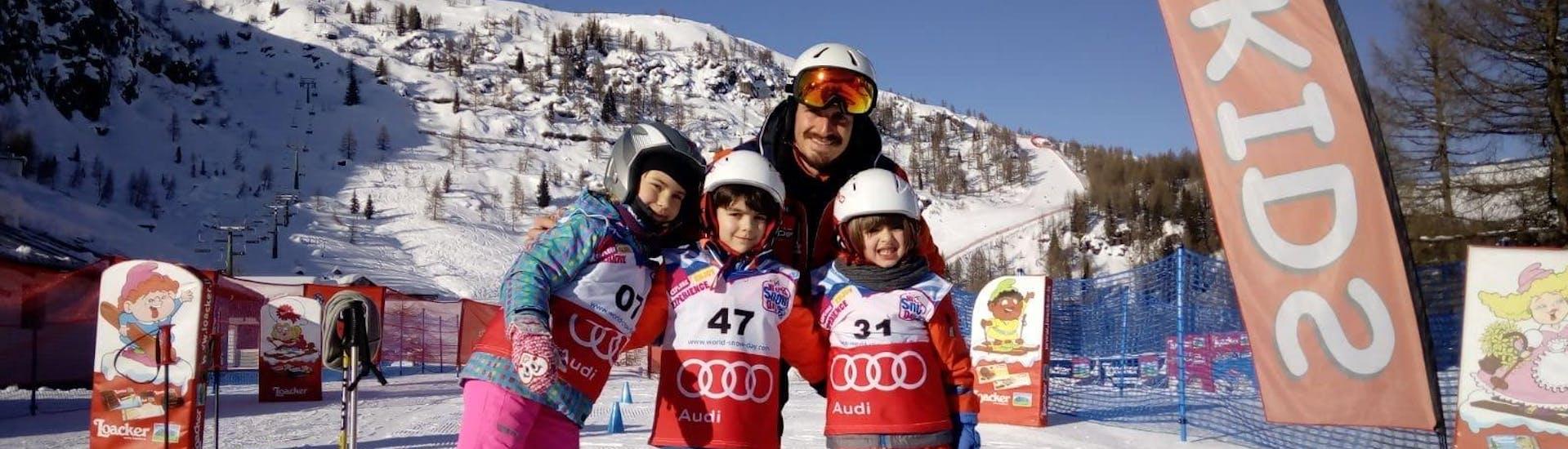 Curso de esquí para niños a partir de 4 años para todos los niveles