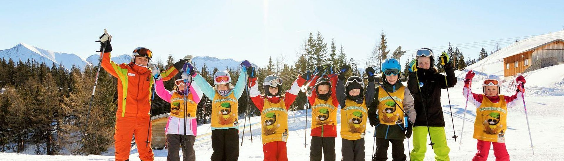 "Ski Lessons for Kids ""Full Day"" (4-16 years) - Advanced"