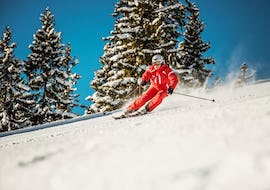 Ski Lessons for Teens & Adults - Advanced