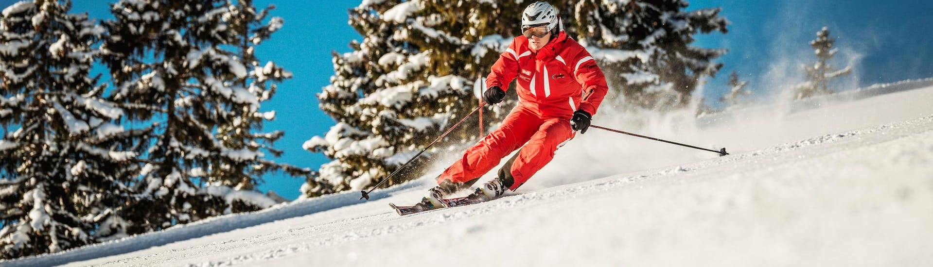 Ski Lessons for Teens & Adults for Advanced Skiers with Skischule Busslehner Achenkirch - Hero image