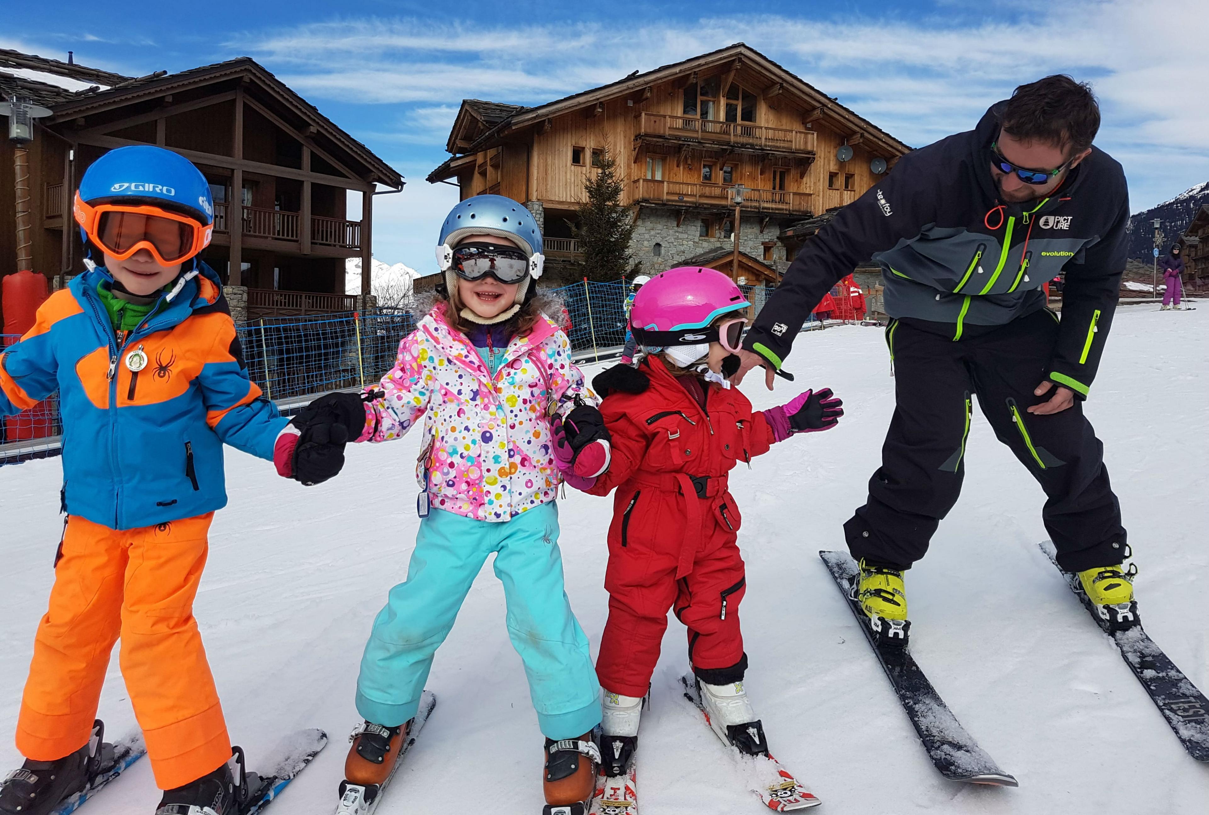 Skilessen voor kinderen vanaf 5 jaar - beginners