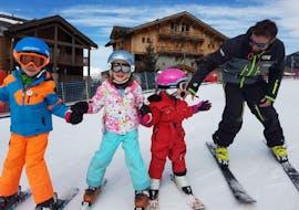 Skilessen voor kinderen vanaf 5 jaar - beginners met Évolution 2 Sainte Foix