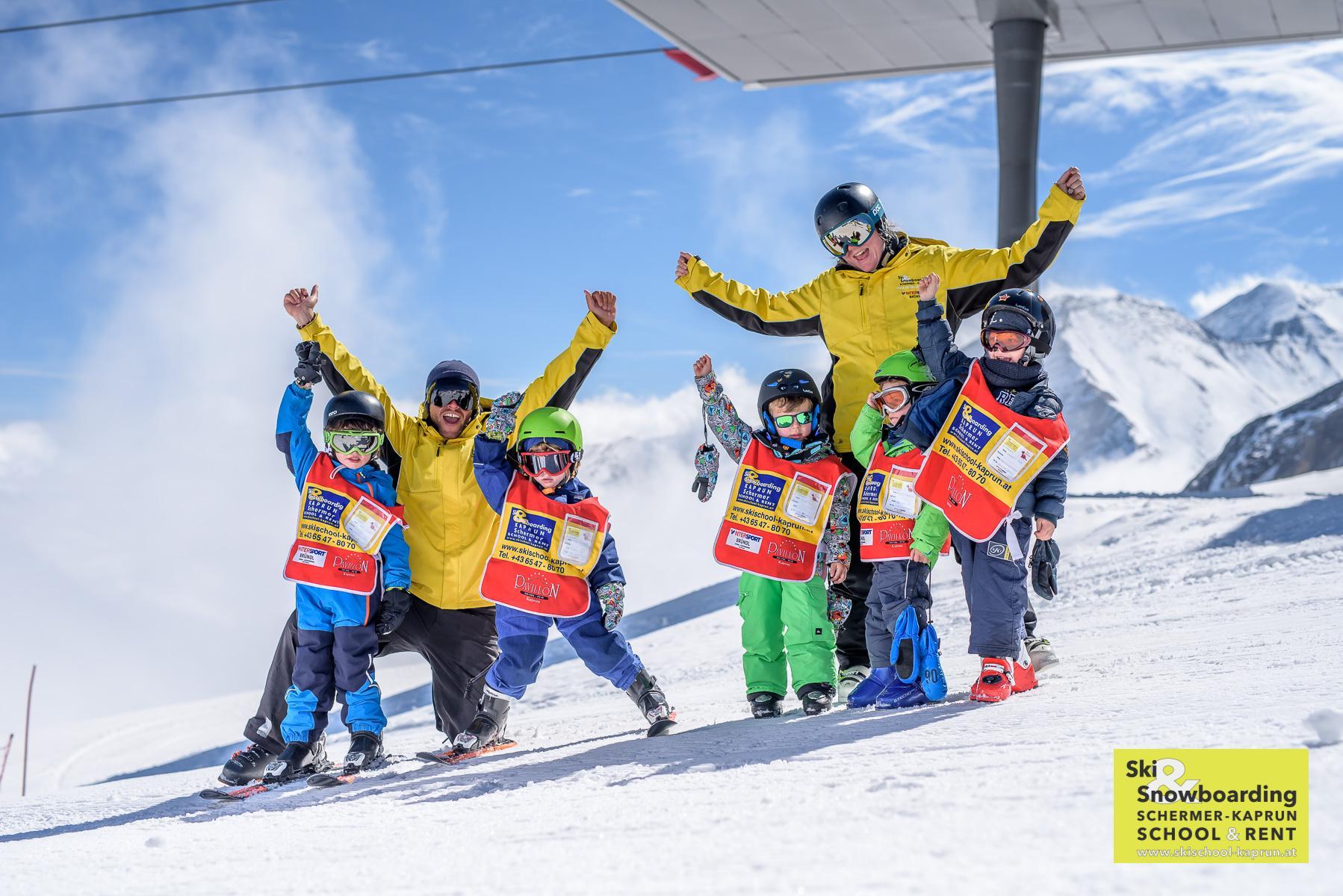 """Skilessen """"All-in-One"""" voor kinderen (3-15) - Gevorderden"""