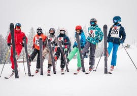 Kids Ski Lessons (7-14 y.) for All Levels - Half Day
