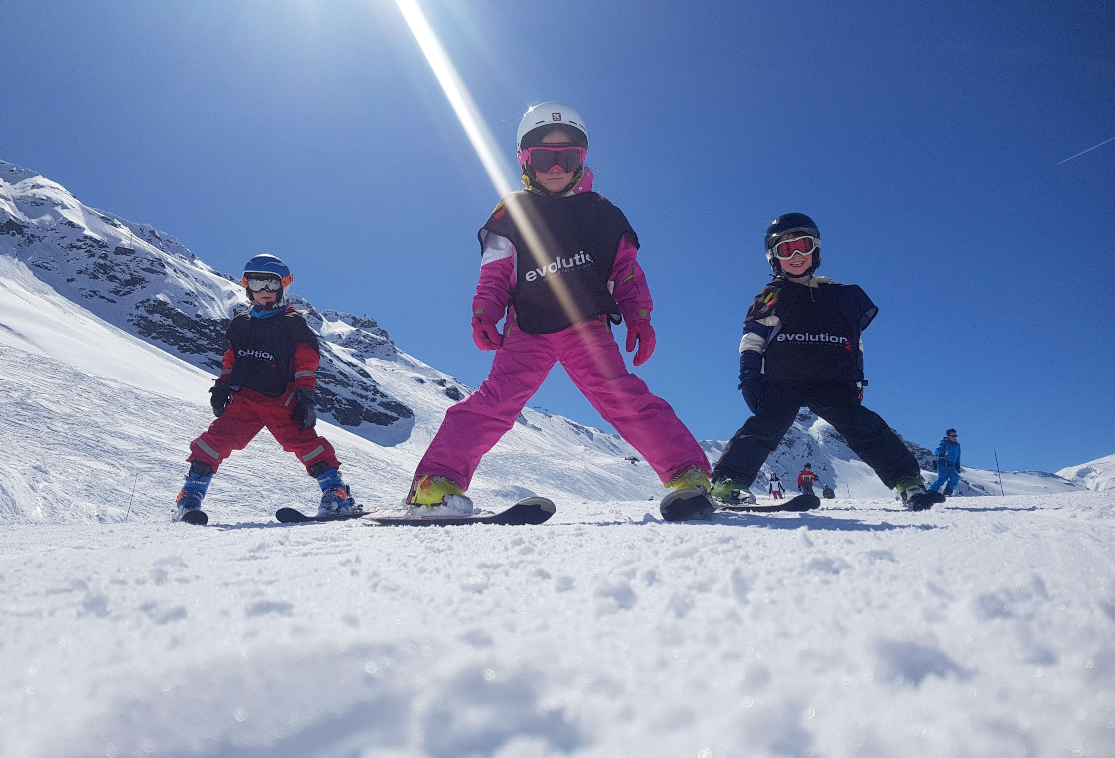 Skilessen voor kinderen vanaf 5 jaar - ervaren