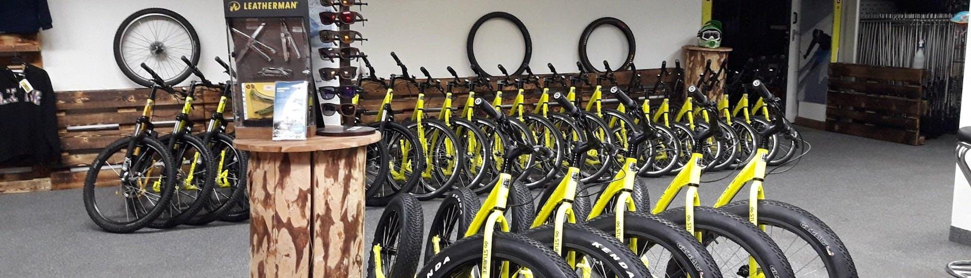 Mountainbike verhuur in Neustift im Stubaital