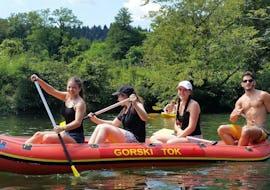 Participants during Canoeing & Kayaking Safari - Kupa organized by Rafting Gorski Tok.