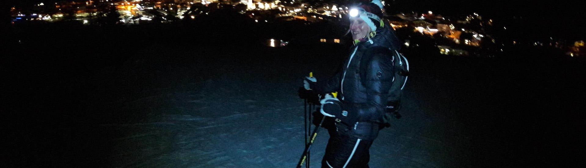 Ski Touring by night Kaprun / Maiskogel