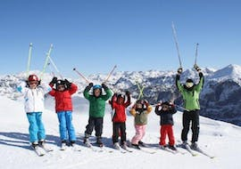 Kids Ski Lessons (6-15 y.) for Beginners